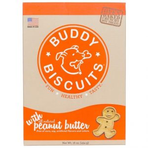 Buddy Biscuits Peanut Butter Flavor