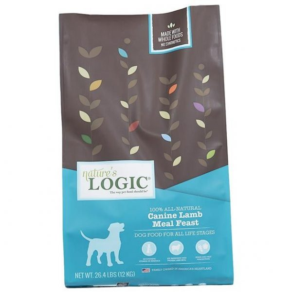 Natures Logic Canine Lamb Meal Feast