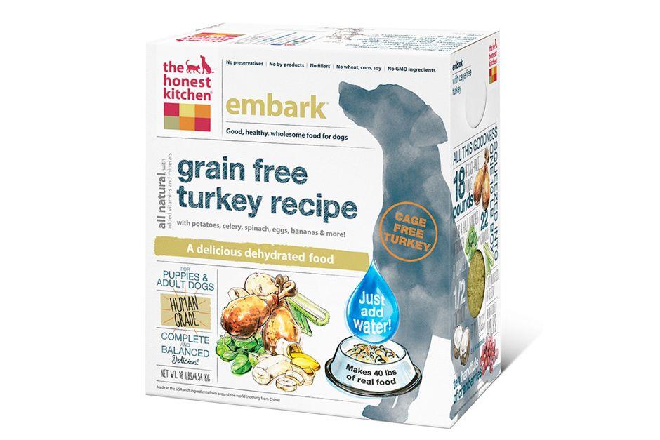 The Honest Kitchen Grain Free Turkey Recipe