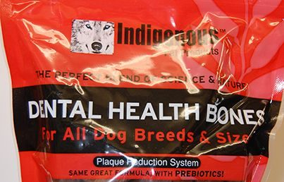 indigenous pet products dental health bones for all breeds and sizes